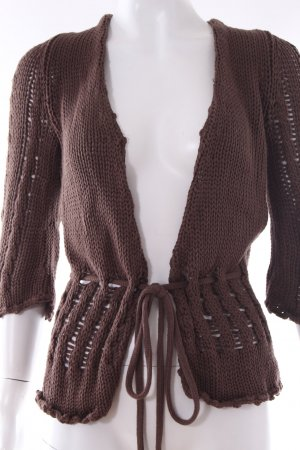 Dept Strickjacke braun