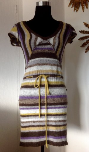 DEPT Strickkleid gestreift