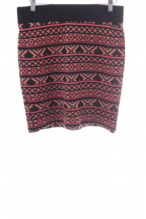 Dept Knitted Skirt graphic pattern fluffy