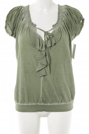 Dept T-shirt verde prato stile casual