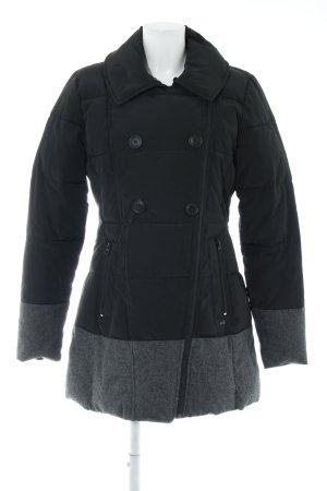 Dept Wintermantel schwarz-grau Casual-Look