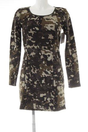 Dept Wollkleid Camouflagemuster Elegant