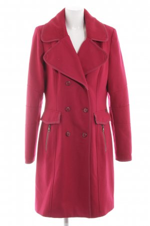 Dept Wollmantel rot Casual-Look