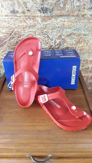 Birkenstock Comfort Sandals red