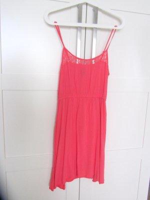 der Sommer kommt Mädels - leichtes farbenfrohes Trägerkleid mit Stickerei