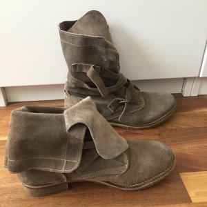 Boots taupe leather