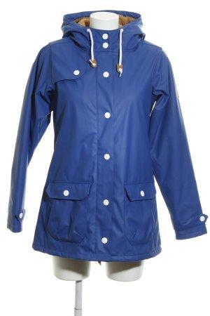 Derbe Outdoor Jacket neon blue casual look