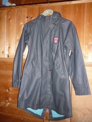 Derbe Heavy Raincoat dark grey