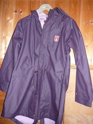 Derbe Heavy Raincoat dark violet