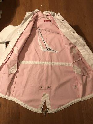 Derbe Chubasquero pesado blanco-rosa