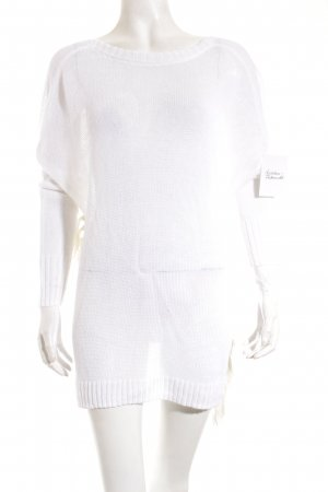 Derek Lam Knitted Wrap Cardigan natural white casual look