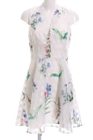 Derhy A-Linien Kleid Allover-Druck Casual-Look