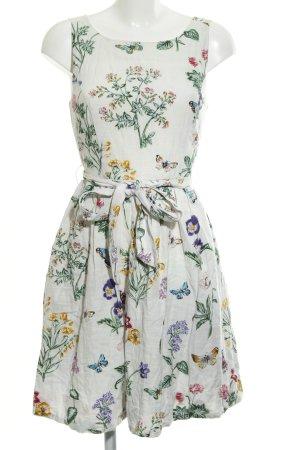 Derhy A-Linien Kleid florales Muster Romantik-Look