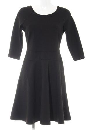 Derhy A-Linien Kleid schwarz Elegant
