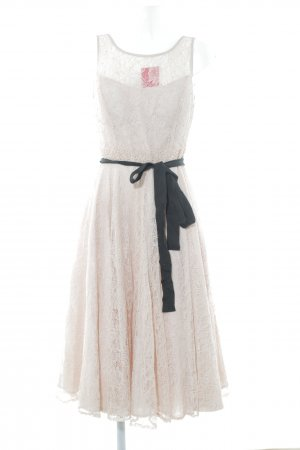 Derhy Abendkleid altrosa Romantik-Look
