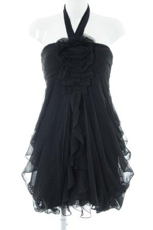 Derhy Cocktailkleid schwarz Elegant
