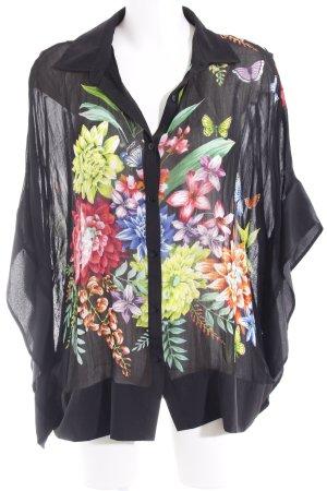 Derhy Blusa tipo kimono estampado floral Estilo playero