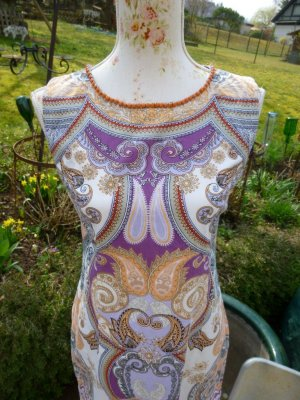 Derhy Kleid Paisley Bunt Gr. M NEU