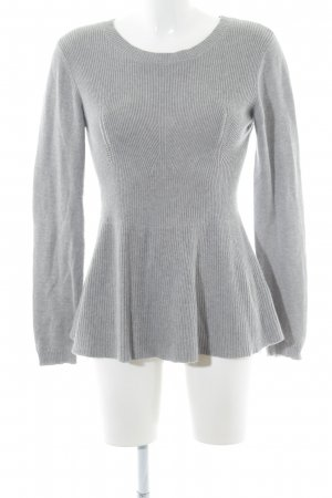 Derhy Sweatshirt hellgrau Casual-Look