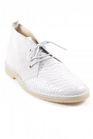 Desert Boots silver-colored-sand brown casual look