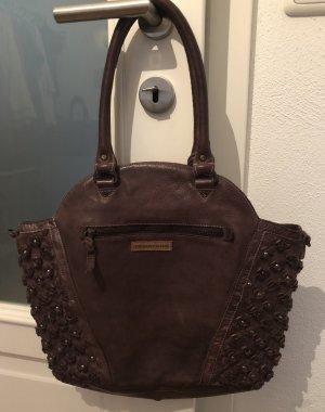 Desiderius Top Qualität Leder Handtasche