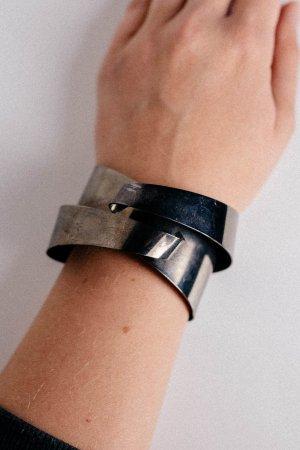 Design Clip-On Metall Armband - ausgefallen - one Size - kreativ - Armreif
