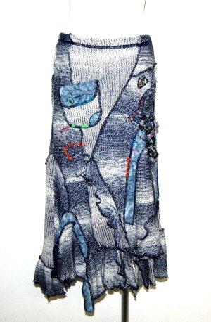 Juju & Christine Jupe tricotée multicolore