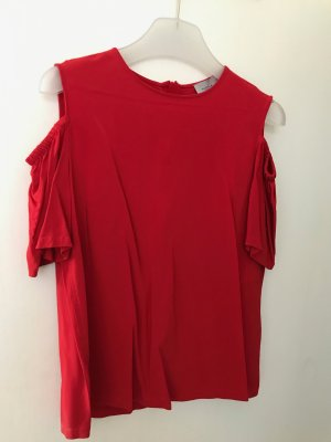 Marella Top cut-out rosso Viscosa