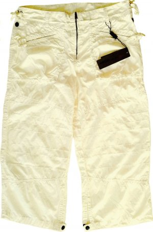 Marc Cain Bermudas natural white cotton