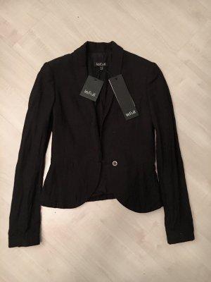 Le Full Blazer de lana negro