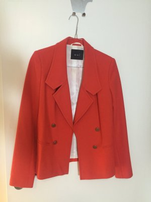 Oui Boyfriend Blazer red