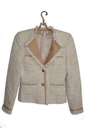 Designer Blazer Uta Raasch beige Business Look (Gr. 34)