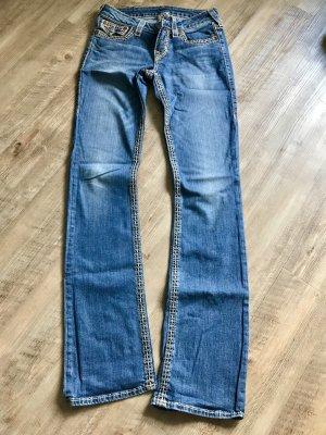 True Religion Boot Cut spijkerbroek blauw