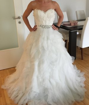 Pronovias Abito da sposa bianco-bianco sporco