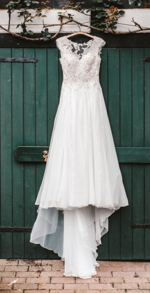 Pronovias Robe de mariée multicolore