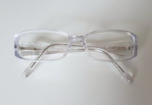 Fendi Glasses silver-colored-white