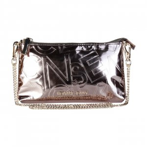 Versace Clutch light grey synthetic