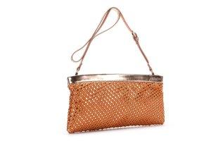Designer Clutch Cocktail Tasche von abbacino Spanien NEU Metallic Look