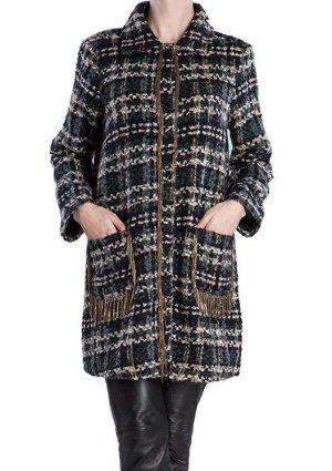 Designer Damen Oversize Mantel meliert von Diamonds & Pearls Gr. 34 wie Neu