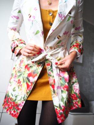 Trenchcoat multicolore coton