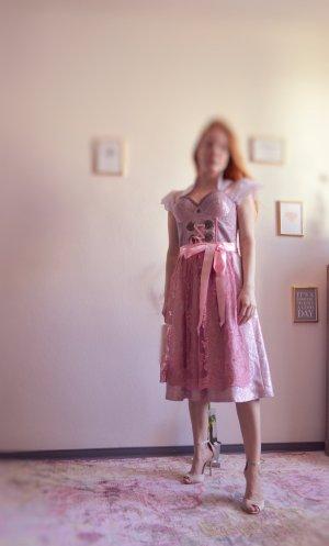ENA trachten Petticoat Dress rose-gold-coloured-white