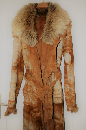 Pelt Coat brown-beige pelt