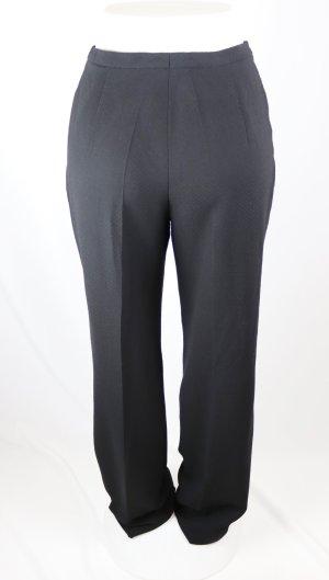 Pantalon en laine noir tissu mixte