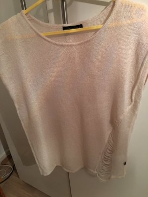 William Rast Knitted Top cream mixture fibre