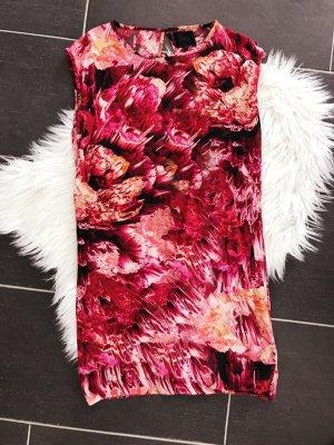 Designer Gestuz Kleid Leuchtende Farben Seidenkleid Sommer Bunt Floral Boho Muster Blumen S