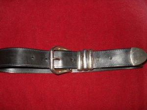 Cinturón de cuero multicolor Cuero