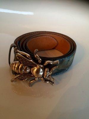 Designer Gürtel mit Fliegenschnalle