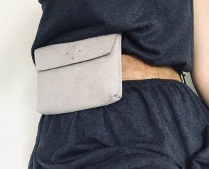 Minibolso gris