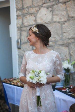 Designer Haarreif Hochzeit Braut Unikat