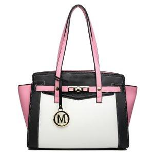Frame Bag multicolored imitation leather